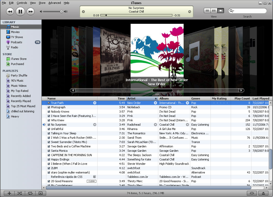 iTunes | Silverlight and other cool things.