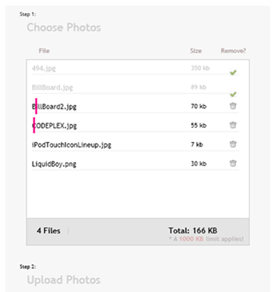 Flickr's multi file upload tool as a silverlight control