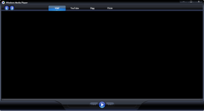windows media player as a silverlight application